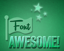 Font Awesome Wallpaper (1920x1080)
