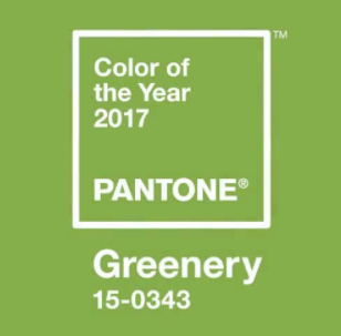 Greenery: Pantone's 2017 Color of the Year