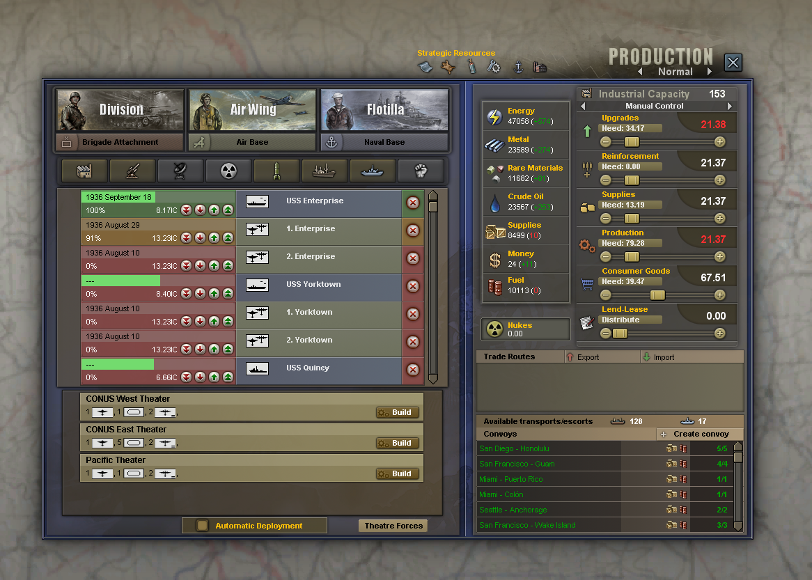 HOI3u0027s Main Production Screen Breathing New Life