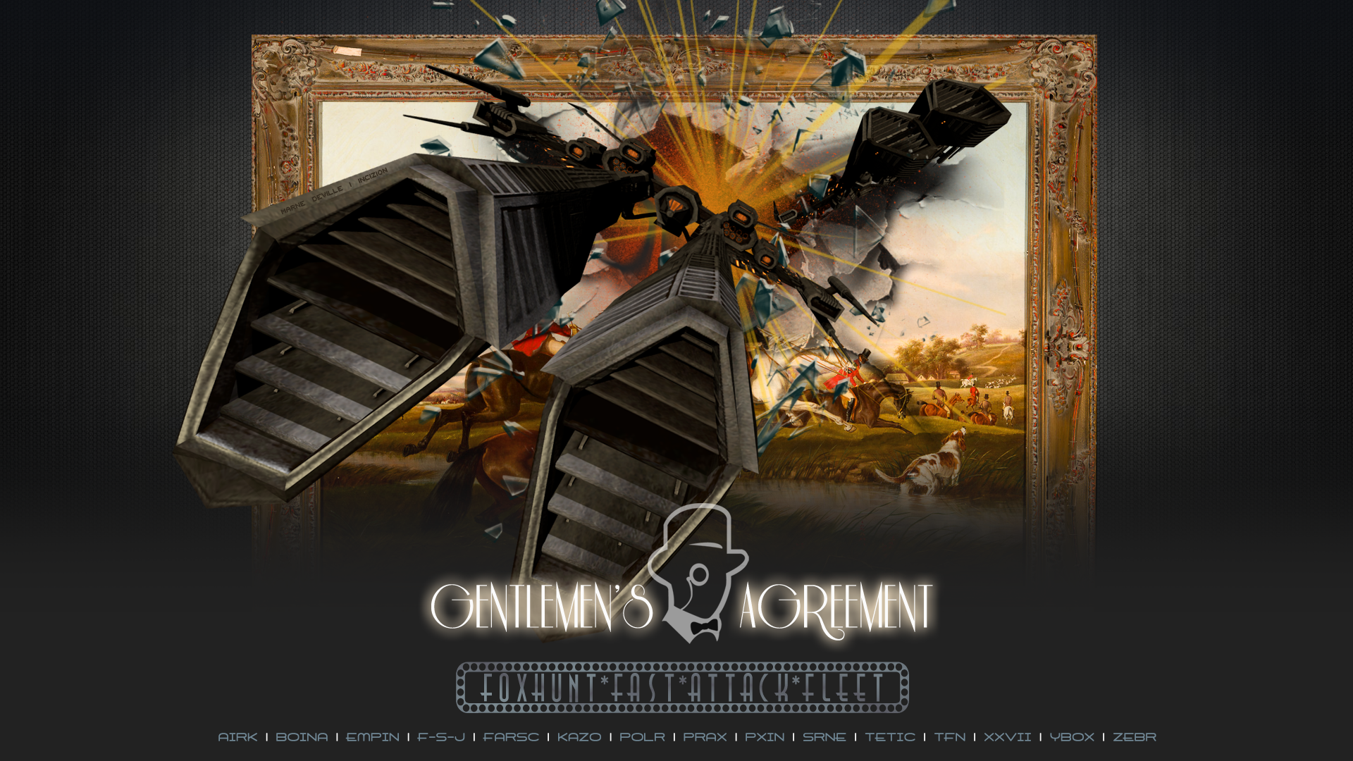 EVE Online - Foxhunt Fleet Doctrine Poster