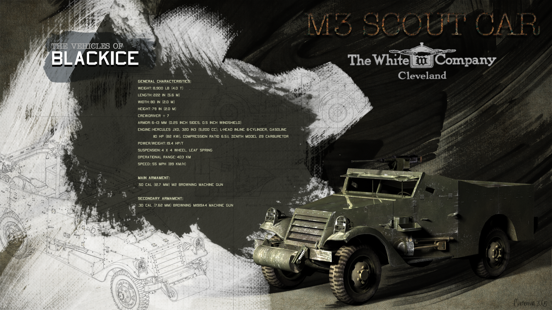 BlackICE - M3 Scout Car