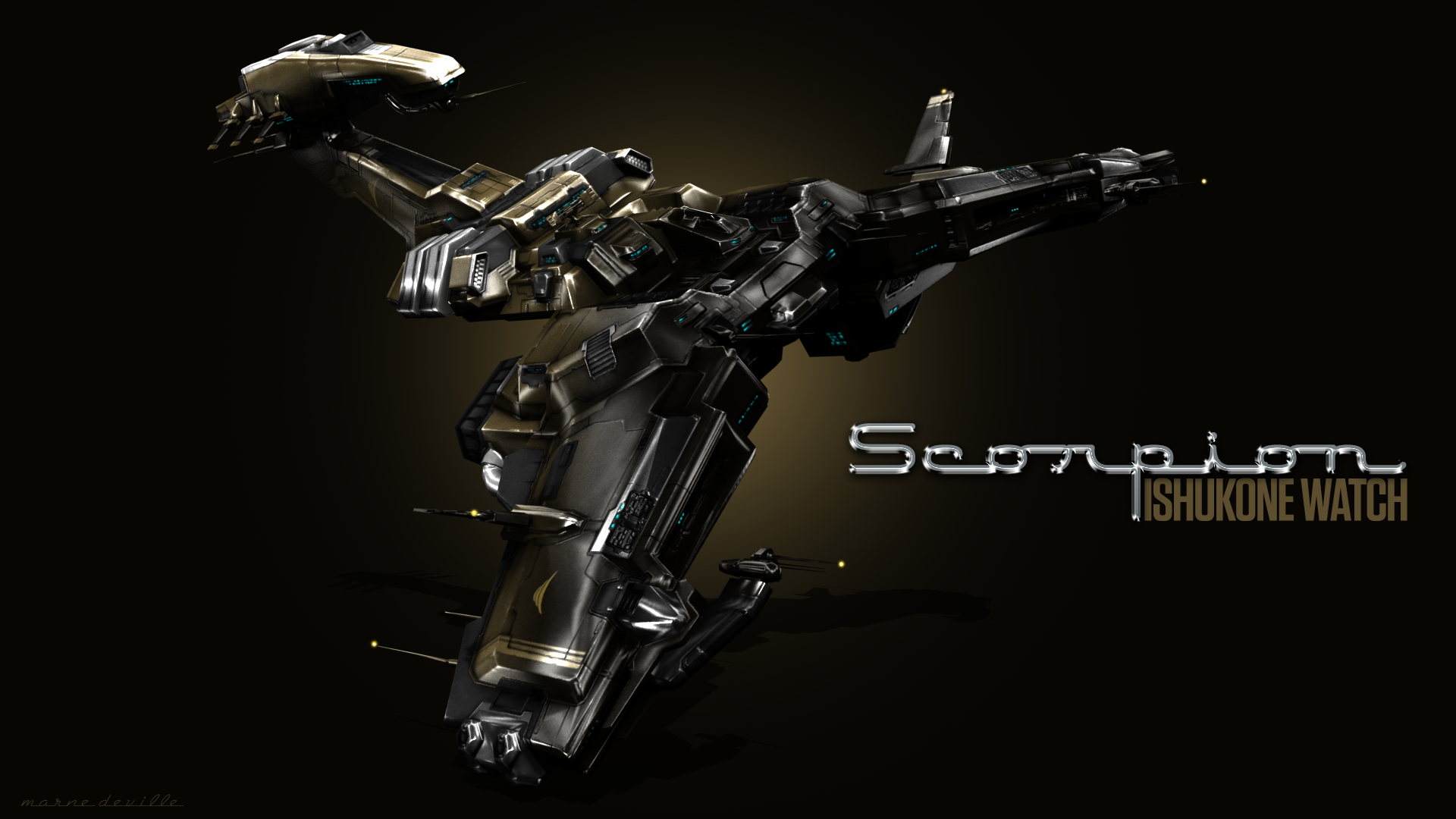 EVE Online - Scorpion (Ishukone Watch)