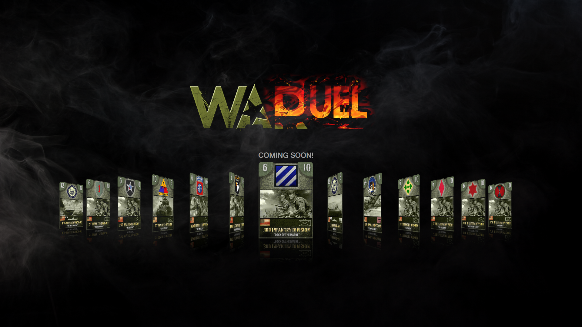 WarDuel Teaser and Cards